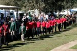 Tasmania march on opening ceremony