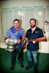2014 Double Rise winner Brian Doyle with sponsor